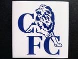 Виниловая наклейка FC Chelsea (Логотип 1986-2005), фото №2