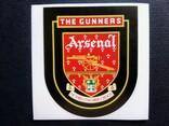 Виниловая наклейка FC Arsenal London (Логотип 1949-2002), фото №2