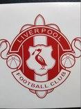 Виниловая наклейка  FC Liverpool  (Старый Логотип), фото №3