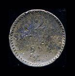 Норвегия 2 скиллинга 1871 серебро, фото №3