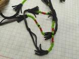 Ожерелье из кожи и меха. Ручная работа народов Севера, фото №6
