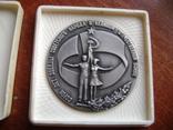 Настольная медаль. Всесоюзный смотр самодеятельного худ.творчества 1983-1985 гг., фото №2