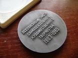 Настольная медаль. Всесоюзный смотр самодеятельного худ.творчества 1983-1985 гг., фото №7