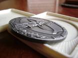 Настольная медаль. Всесоюзный смотр самодеятельного худ.творчества 1983-1985 гг., фото №9