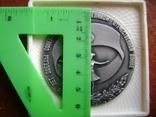 Настольная медаль. Всесоюзный смотр самодеятельного худ.творчества 1983-1985 гг., фото №10