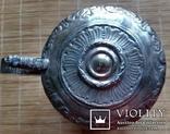 """Кухоль пивний срібний 835"""", Н16 см, 732 грами, фото №7"""