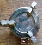 """Кухоль пивний срібний 835"""", Н16 см, 732 грами, фото №9"""