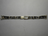 Браслет на часы Серебро 925 Вес - 20,68 грамм, фото №6