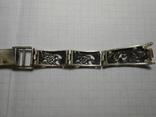 Браслет на часы Серебро 925 Вес - 20,68 грамм, фото №8