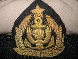 Фуражка старшего комсостава ММФ СССР, Черноморское пароходство, Одесса, 1978 г., фото №6