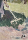"В.Кнышевский ""Сеют"", х.м.46*40см, 1978г, фото №4"