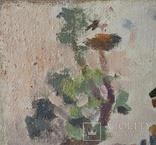 "В.Кнышевский ""Сеют"", х.м.46*40см, 1978г, фото №6"