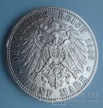 5 марок, Бавария, 1906 год,, фото №6