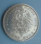 5 марок, Пруссия, 1874 год., фото №6