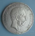 5 марок, 1891 год, Саксония,, фото №2