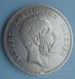 5 марок, 1893 год, Саксония,, фото №3