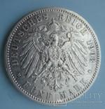 5 марок, 1903 год, Саксония,, фото №4