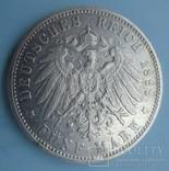 5 марок, 1899 год, Вюртемберг,, фото №6
