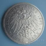 5 марок, 1892 год, Вюртемберг,, фото №5