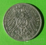 2 марки, Баден, 1901 год., фото №3