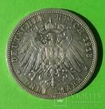 3 марки, Пруссия, 1913 год., фото №4