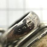 Подвес серебро с камнем, фото №5