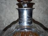 Хрустальны графин с серебряным ободком 830* Германия 1937 г, фото №7