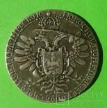 Медаль в память венчания Димитрия Ивановича в 1605 г. Копия., фото №3