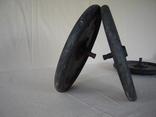 Массивные узкие колеса на подшипниках., фото №8