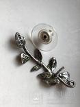 Серьги и колье, винтаж, Израиль, ручная работа, фото №5