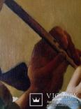 """Копия картины """"Флейтист"""" Х Тербрюгген, фото №7"""