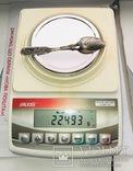 Срібна чайна ложка 84 проба, 1846 р. вага 22 г., фото №3