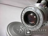 Объектив индустар-22 [белый,тубусный-нов] футляр,передняя крышка оригинальные, фото №3