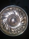Сахарница серебро 800, фото №5