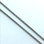 Подвес серебро сердце на цепочке, фото №5