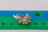 Серьги и кольцо с бриллиантами, фото №10