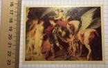"Календарик картина Рубенс ""Персей и Андромеда"", 1993 (эротика) / живопись, еротика, фото №2"