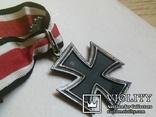 Рицарский железный крест с листьям и мечами. Реплика., фото №8