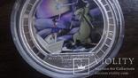 2  доллара 2008 острова Кука Стойкий оловянный солдатик Союз Мультфильм серебро 999 унция, фото №4