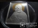 5 долларов 2011 о-ва Кука икона Мадонна серебро 25 грамм~, фото №3