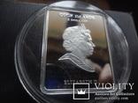 5 долларов 2011 о-ва Кука икона Мадонна серебро 25 грамм~, фото №6