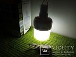 Фонарь подвесной аккумуляторный USB кенпенговый, фото №2