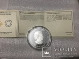 30 долларов Канада. 2018 г. (62.69 г) Серебро, фото №4