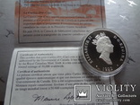 20 долларов 1992 Канада серебро, фото №6