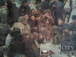 """Копия картины Непринцева Ю.М. """"Отдых после боя"""", фото №7"""