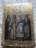 Храмовая икона с изображением Святых: С.М. Акулина, Св. Стефан, Св. Филип, С.М. Феодосия, фото №2