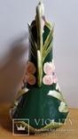 Ваза, майоліка, Франція, Н30х16,5 см, фото №5