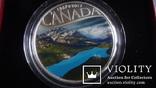 10  долларов  2017  Канада озеро Пейто  серебро, фото №3