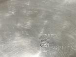 Сахарница серебро 84 проба, фото №9