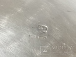 Сахарница серебро 84 проба, фото №11